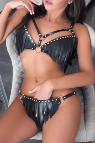 Kanatli Butik 8001 Deri Lazer Kesim Seksi Takım